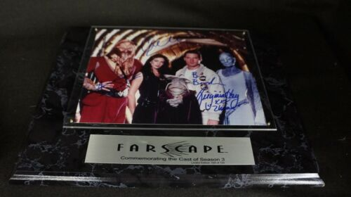FARSCAPE Limited Edition #28/100 4 STARS w/ Printed Signatures NICELY DONE