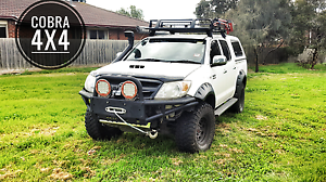 Toyota Hilux BULLBAR 2005 -2011 BUMPER BASH PLATE XROX COMPATIBLE Hoppers Crossing Wyndham Area Preview