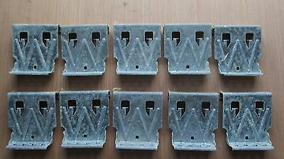 Standing Seam Metal Roof Fixed Clip Fasteners Challenger Series 460 Lot 10 Pcs.