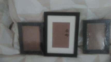 Plastic picture frames