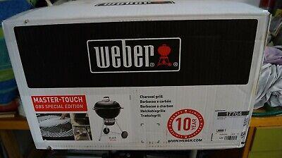 Weber Master-Touch GBS 17784 Kugelgrill - Schwarz (17301004) Testsieger!, usado segunda mano  Embacar hacia Spain