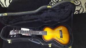 Ukulele Kala Archtop Tenor with hard case Christies Beach Morphett Vale Area Preview