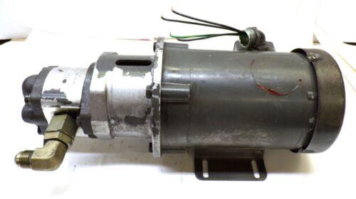 BALDOR MOTOR, CM3542, RPM 1725, .75 HP, BOSCH HYDRAULIC GEAR PUMP 0 510 425 031