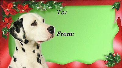 Dalmatian Christmas Labels by Starprint - No 1
