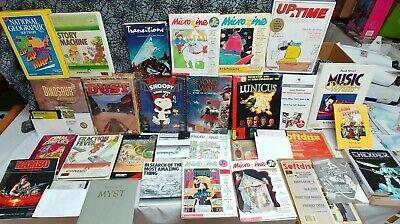 Huge Lot Apple II & Mac Games & Software Some Sealed RPG Wizardry 2 Rambo II +++