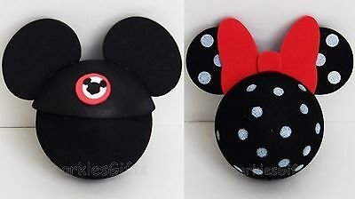 Disney - Mickey Mouse Club & Minnie Mouse Polka Dot Antenna Toppers Lot of 2](Minnie Mouse Mickey Mouse)