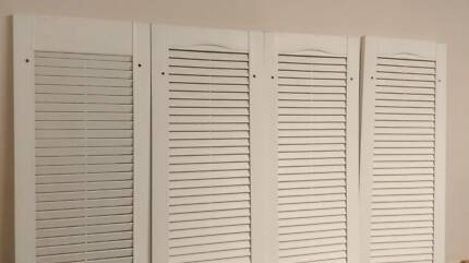 Louvres (x4) for colonial style windows (NEW and UNUSED) Aspley Brisbane North East Preview