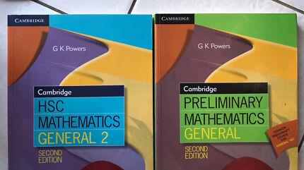 Cambridge HSC and Prelim Mathematics General 2