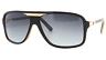 NEW VonZipper Stache Sunglasses-VBB Vibrations Black-TINY SCUFFS ON ARMS