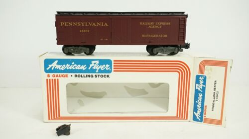 American Flyer S Gauge Pennsylvania PRR Reefer Item 6-48802 NEW DAMAGED