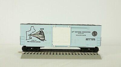 Lionel O Scale 1978 TCA Convention Car Boston MA Flying Yankee Car 6-9611 NEW #2