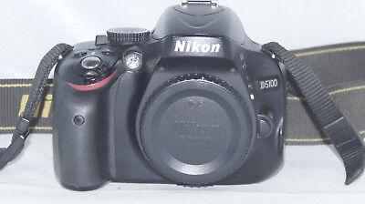 Nikon D D5100 16.2 MP SLR-Digitalkamera - 25815 Auslösungen na sprzedaż  Wysyłka do Poland