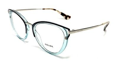 Prada VPR 53U VYS-1O1 Light Blue Women's Authentic Eyeglasses Frame 50-19