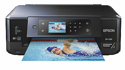 Epson Expression Premium XP-630 Wireless All-in-One Inkjet Printer DVD/CD - NEW