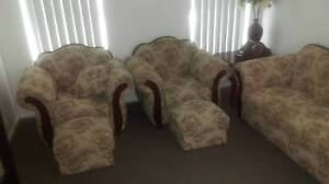 Timeless Handcrafted Loungeroom set known as Deco Furniture Sandy Point Bankstown Area Preview