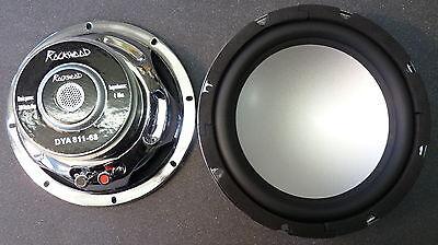 """2x Rockwood DYA-811 20cm 8"""" Bass Lautsprecher 200mm Tieftöner 4Ohm Alumembran"""