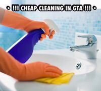 !!! CHEAP CLEANING IN GTA !!!