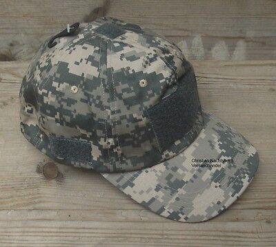 Einsatz Cap AT DIGITAL Tactical Mütze mit Klett Feldmütze Fullcap Einheitsgröße
