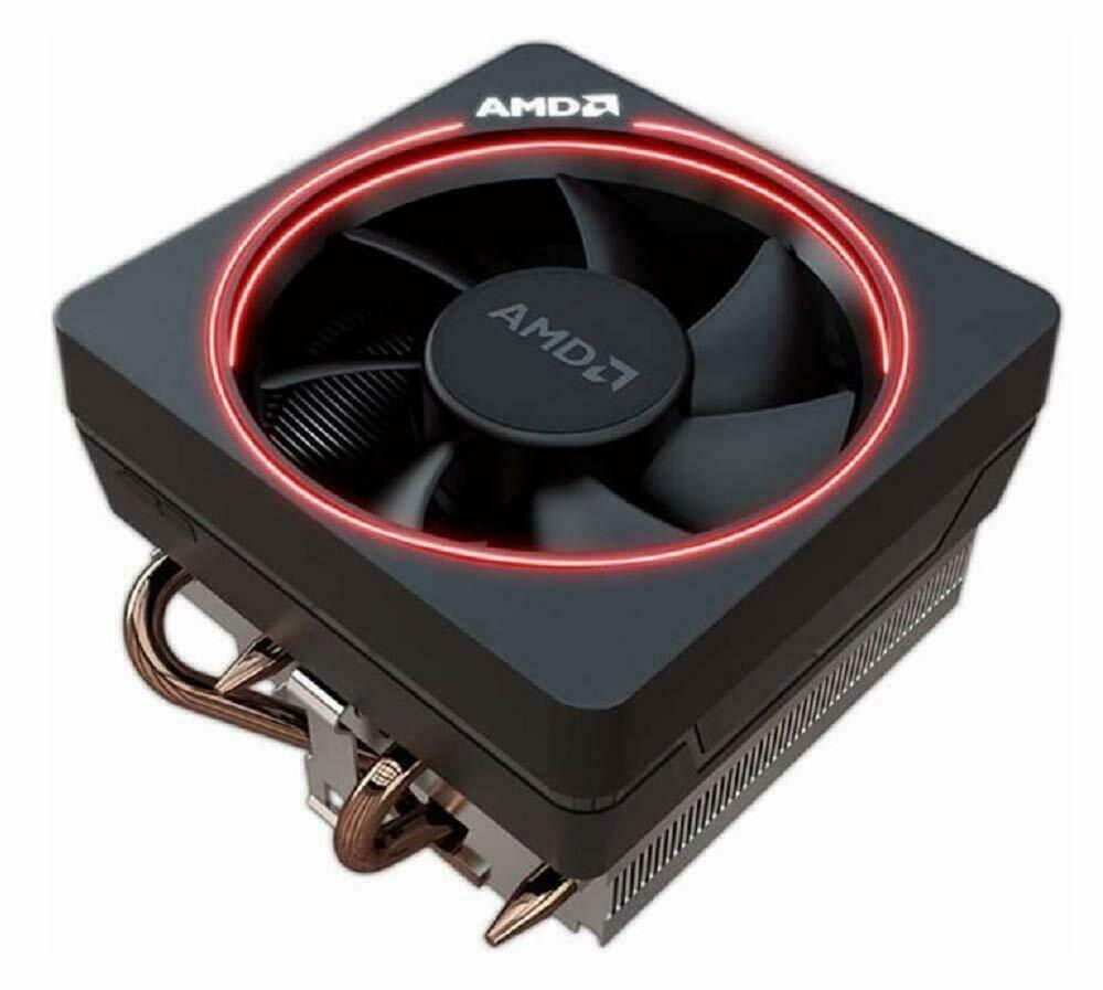 AMD Wraith Max RGB LED 4-Pin Connector CPU Cooler with Coppe