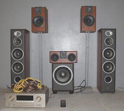 JBL Home Theatre System (5 Speakers) + Active Sub & MARANTZ SURROUND RECEIVER