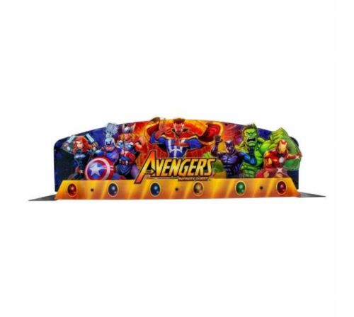 STERN AVENGERS INFINITY QUEST Pinball Machine Game TOPPER #502-7131-00 NEW!!