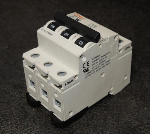 Rogy JVM16-63 Circuit Breaker 480 VAC 40 Amp Type C