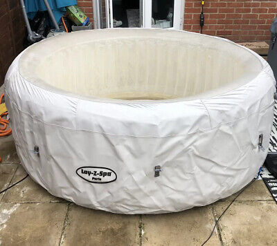 L👀k lazy spa hot tub paris USED 24hour Auction  99p Start FAST FREE POST
