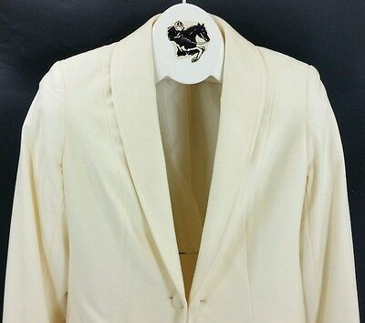 4c4f6dd575a Reed Hill Saddleseat Day Coat Ladies ECRU   IVORY ultra suede 12 - USA