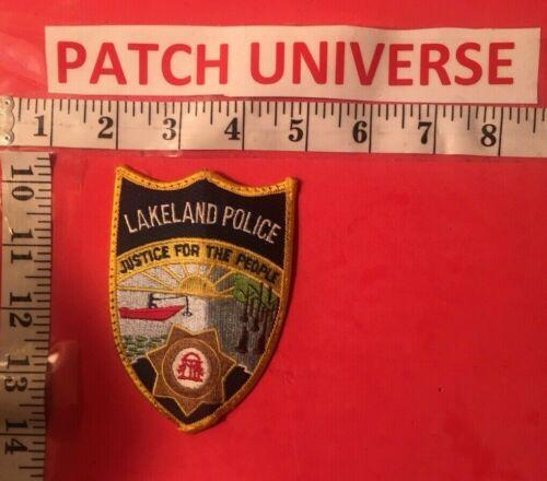LAKELAND  GEORGIA  POLICE  SHOULDER PATCH  A079