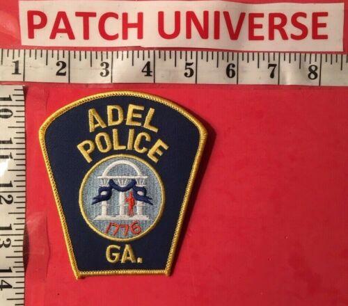 ADEL GEORGIA  POLICE SHOULDER PATCH  C123