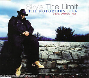THE-NOTORIOUS-B-I-G-ft-112-Skys-The-Limit-UK-4-Tk-CD-Single