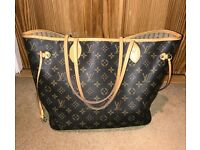 Genuine Louis Vuitton Neverfull MM