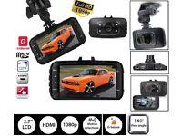 Dashcam 1080P HD Car DVR Camera Video Recorder Rearview Dash Cam G-sensor Lens