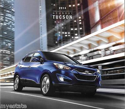2014 14  Hyundai  Tucson  original  brochure MINT