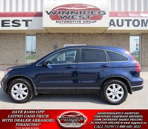 2008 Honda CR-V Blue EX-L 4x4, Sunroof, Heated Leather, A Must S