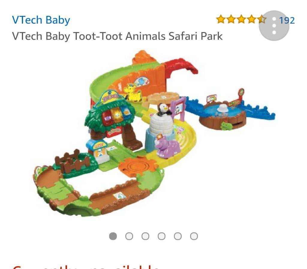 Toot toot safari and 2 animals