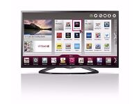 tv lg 42inch smart led cinema with wifi. Lan. 2 remotes. immaculate condition