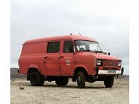 Ford Transit L MK2 County 4x4 1984 LWB, High Top Campervan Motorhome