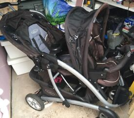 Graco Stadium Duo Pushchair Black