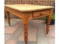 Solid Pine Kitchen Table ... £85 ... Possible Delivery