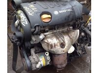 VAUXHALL/OPEL ZAFIRA 1.8 16v 2006 (06) ENGINE CODE:Z18 XE ENGINE FOR SALE