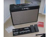 Line 6 Flextone II XL Guitar Amplifier with Floor board and manuals
