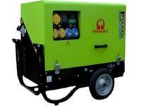 PRAMAC P6000 Super Silent,Electric Start,Diesel Generator