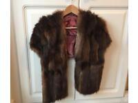 Genuine Vintage Fur Stole