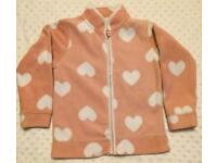 Girl's Mothercare Fleece - Size 4-5 years