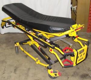 Stryker 6082 MX-PRO R3 Ambulance Stretcher Cot w/ mattress, arms & IV Mount Great Condition