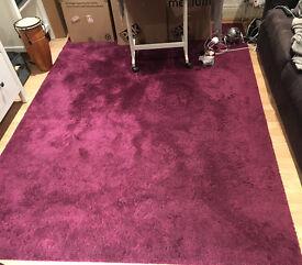 IKEA Purple Rug 170x240 - Great condition