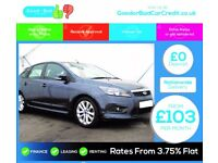Ford Focus 1.6 Zetec S 5dr / finance available