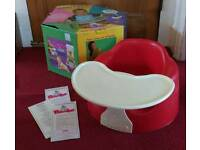 Bumbo (Unisex Red with Tray & Box)