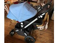 Bugaboo Cameleon 3 - Basinet & Accessories - great condition